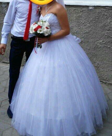 Цена снижена!!свадебное платье)). Фото 3. Домодедово.