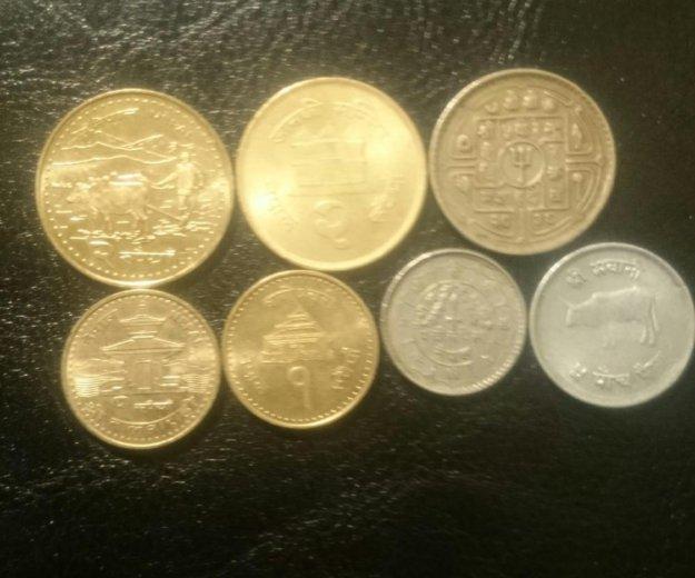 Набор монет непала. Фото 1. Санкт-Петербург.