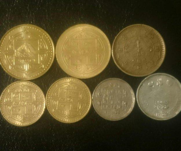 Набор монет непала. Фото 2. Санкт-Петербург.