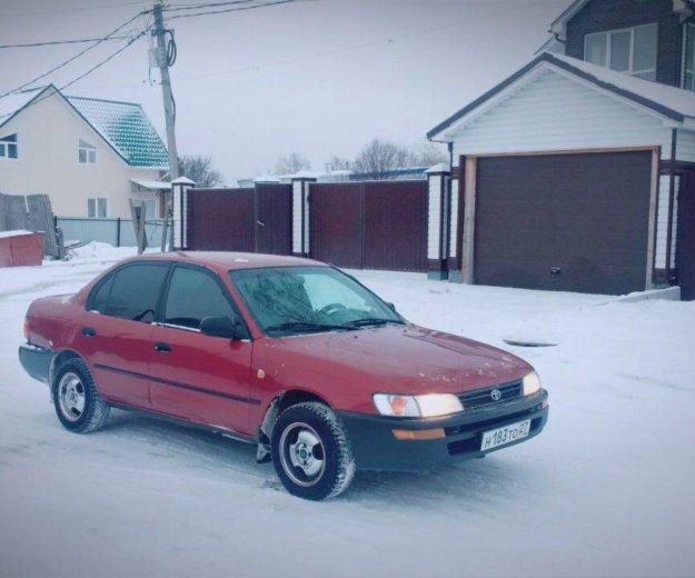 Toyota corolla 1996 г. механика. Фото 1. Хабаровск.