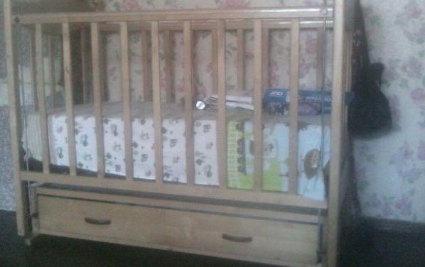 Детская кроватка. Фото 1. Хабаровск.