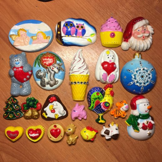 Магниты подарочные ручная работа. Фото 1. Новочеркасск.