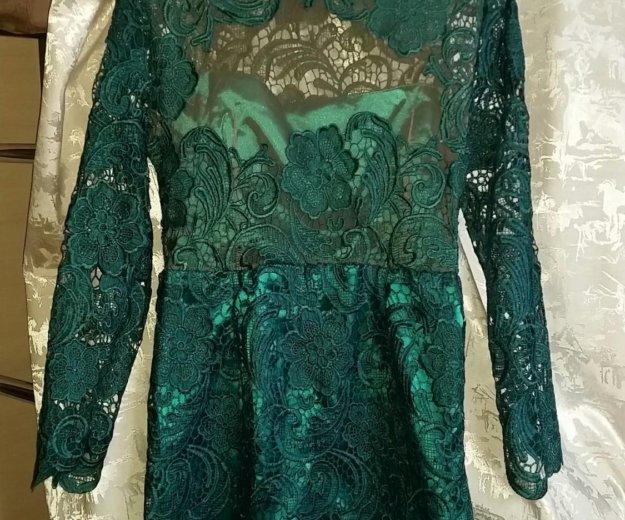 Продам новое шикарное, кружевное платье. Фото 1. Климовск.