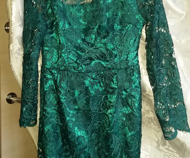 Продам новое шикарное, кружевное платье. Фото 2. Климовск.
