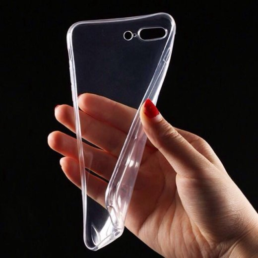 Прозрачный силиконовый чехол для iphone 7. Фото 1. Москва.