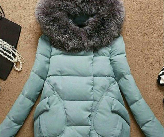 Укороченный пуховик-куртка. Фото 2. Владивосток.