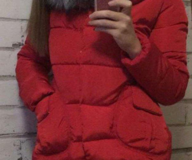Укороченный пуховик-куртка. Фото 4. Владивосток.