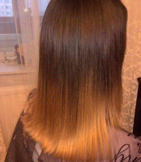 Кератиновое выпрямление волос. Фото 2. Санкт-Петербург.