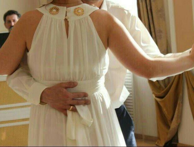 Свадебное платье для беременных. Фото 2. Белоярск.