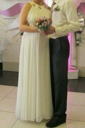 Свадебное платье для беременных. Фото 4. Белоярск.