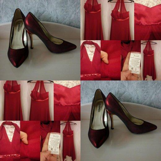 Платье красное+ новые туфли. Фото 3. Мытищи.