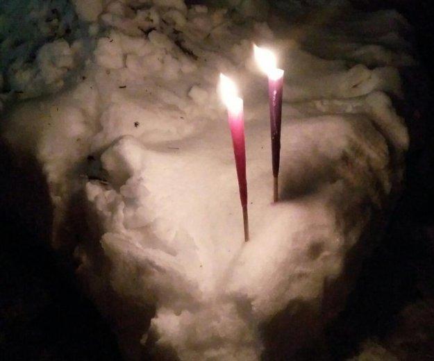 🎄свеча мадонна 21 см к великому крещению. Фото 2. Москва.