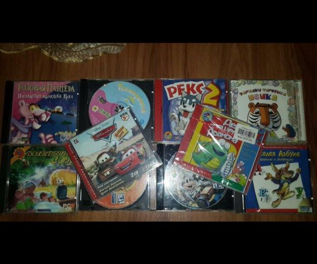 Цена за все 18 шт,детские компьютерные игры. Фото 2. Химки.