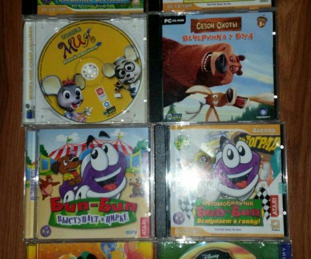 Цена за все 18 шт,детские компьютерные игры. Фото 1. Химки.