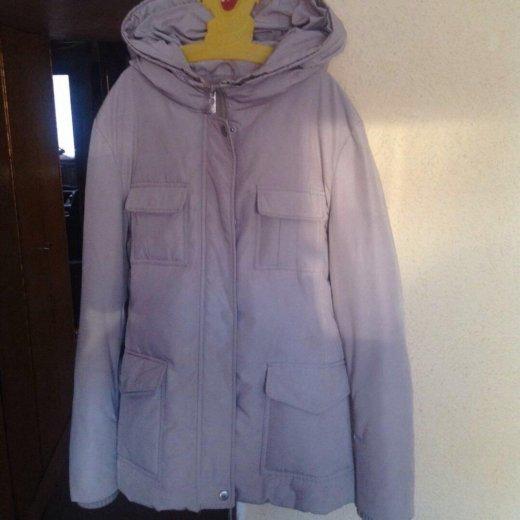 Удлиненная куртка-пуховик ann christine. Фото 1.