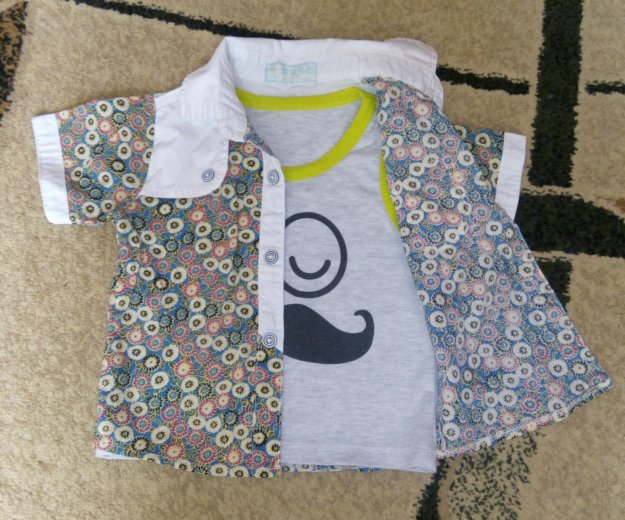 Рубашка и майка. Фото 4. Новый.
