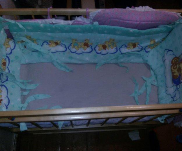 Бортики в кроватку детскую. Фото 2. Якутск.