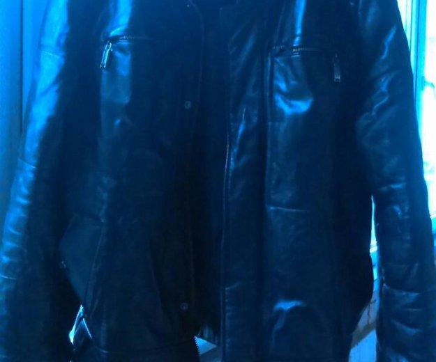 Кожаная мужская куртка.кожа настоящая.. Фото 4. Ростов-на-Дону.