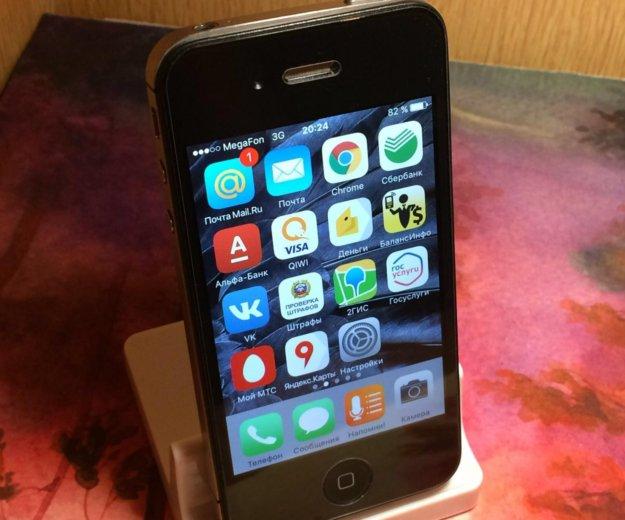 Iphone 4s 8gb black. Фото 1. Воронеж.