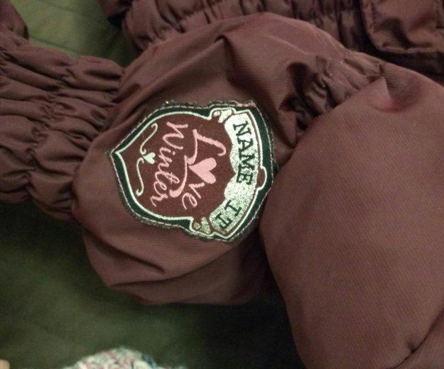 Куртка (пуховик) для девочки name it. Фото 3. Москва.
