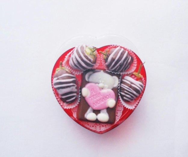 Клубника в шоколаде 🍓🍫. Фото 2. Казань.