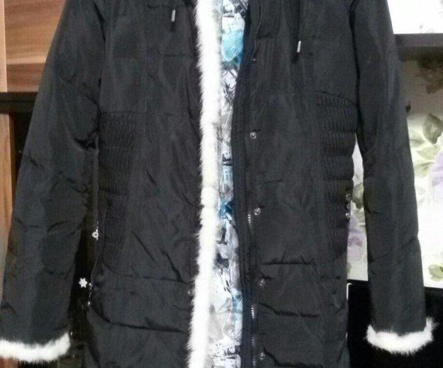 Пальто - пуховик, 40-42 размер. Фото 1. Балашиха.
