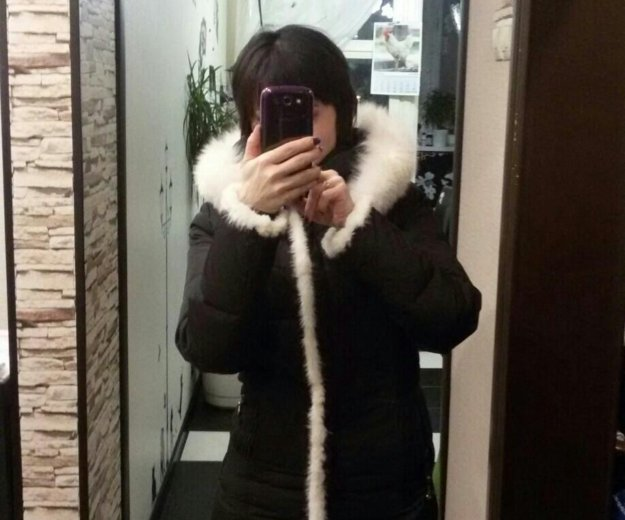 Пальто - пуховик, 40-42 размер. Фото 4. Балашиха.