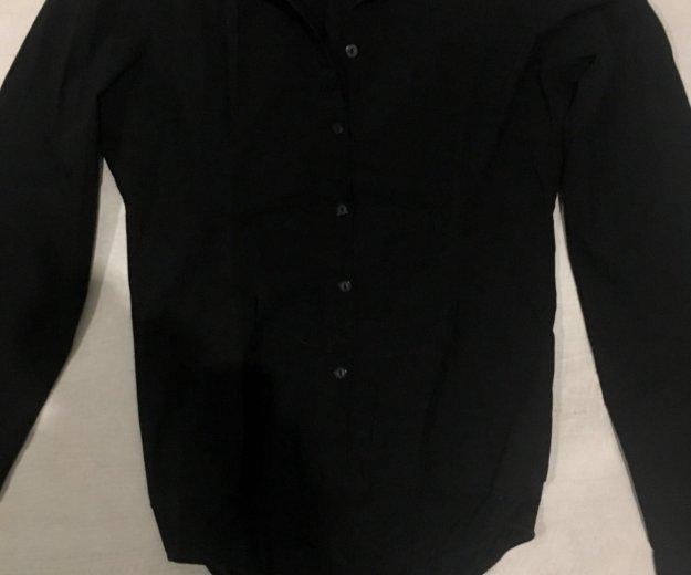 Боди рубашка черная. Фото 1. Ростов-на-Дону.