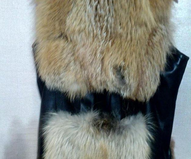 Меховая жилетка. Фото 2. Полевской.