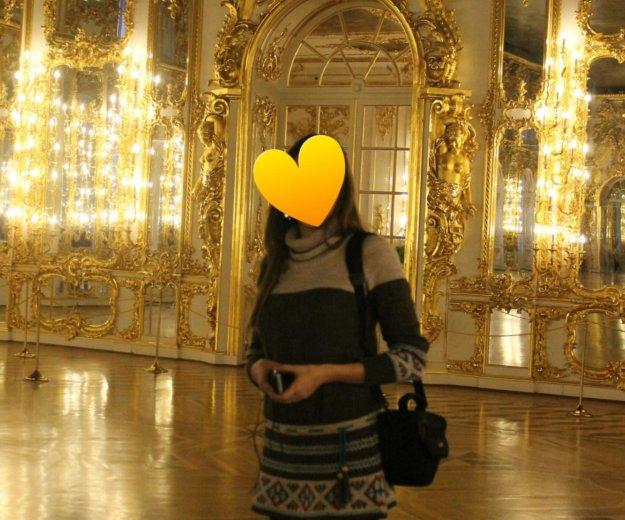 Шерстяной свитер- туника. Фото 2. Москва.