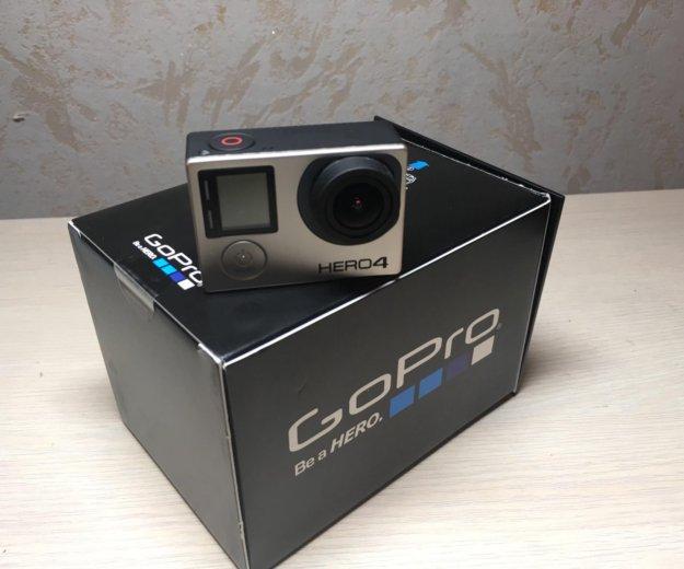 Gopro hero 4 black edition экшн камера +аксессуары. Фото 2. Набережные Челны.