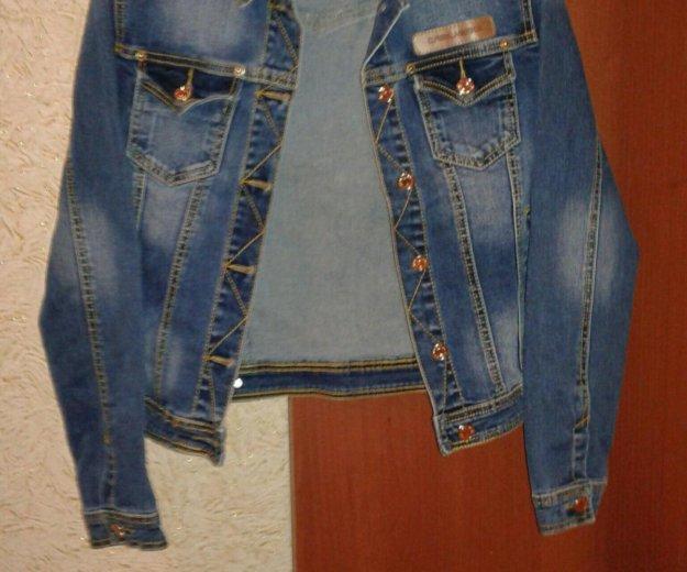 Пиджак  джинсовый . Фото 1. Курск.