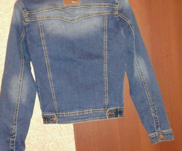 Пиджак  джинсовый . Фото 2. Курск.