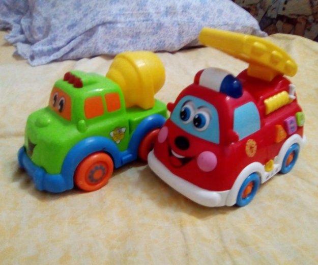 Детский паровозик и машинка. Фото 2. Тюмень.