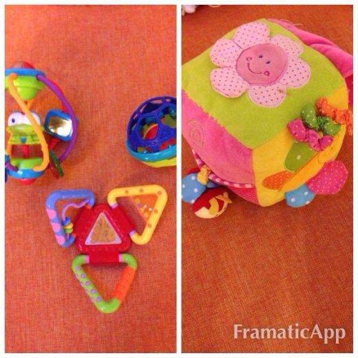 Игрушки для ребёнка до 1 года. Фото 1. Долгопрудный.