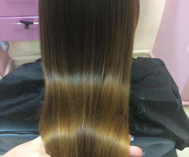 Кератиновое выпрямление волос. Фото 1. Краснодар.