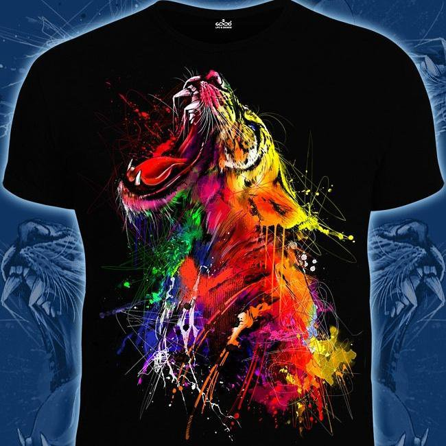 Праздником, картинка светящиеся футболки