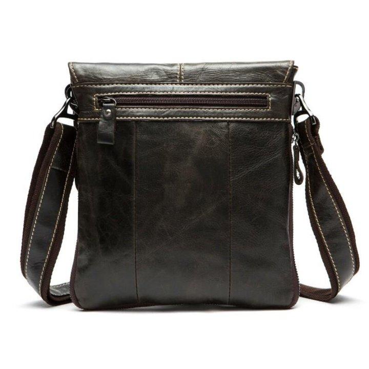 7153e7775a90 Мужская кожаная сумка на плечо натуральная кожа – купить в Москве ...