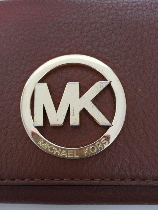 84dd944e304a Michael Kors кошелёк оригинал б/у – купить в Санкт-Петербурге, цена ...