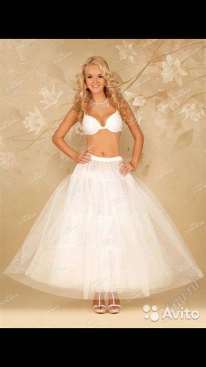 da21320c0765b81 Подъюбник для свадебного платья без колец Новый – купить в ...