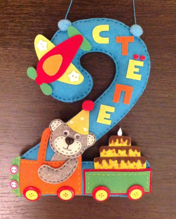 Открытка своими руками на день рождения 2 года мальчику, приглашения