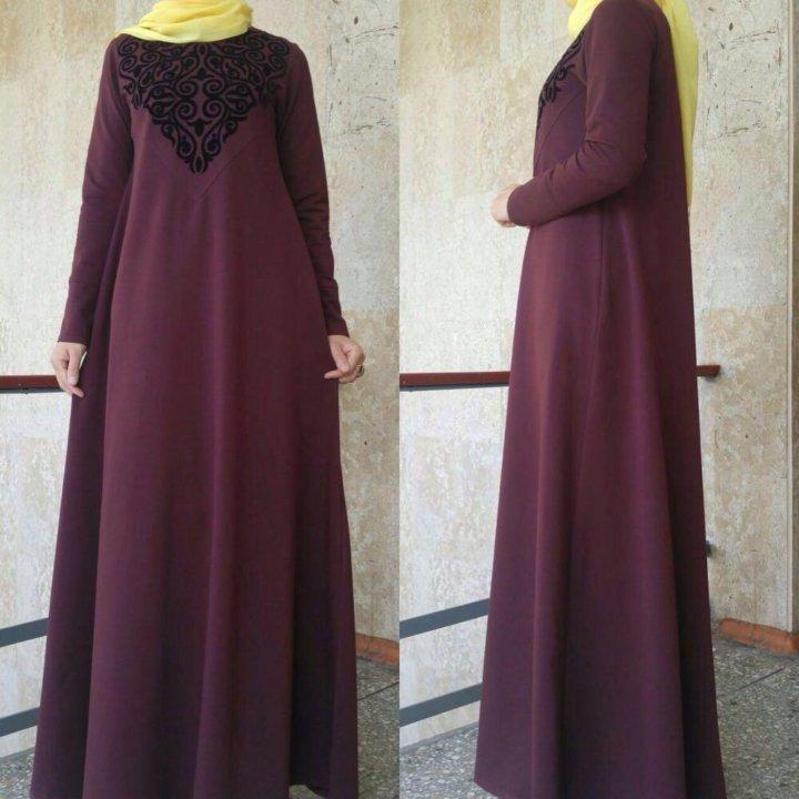 f6ff704c015bfa3 Мусульманские платья – купить в Грозном, цена 1 800 руб., продано 24 ...