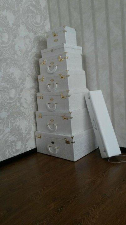 Свадебные чемоданы – купить в Аргуне, цена 15 000 руб., продано 16 ... b0b34366592