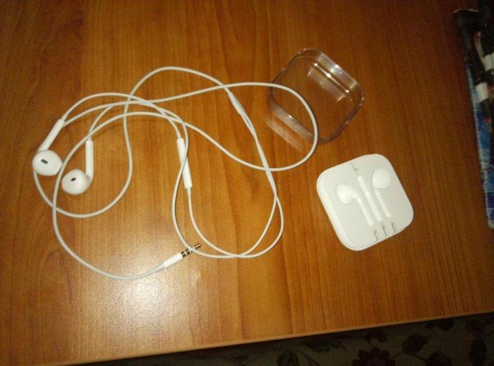 Наушники б у Айфон (оригинальные apple earpods) – купить в ... 5add91511024f