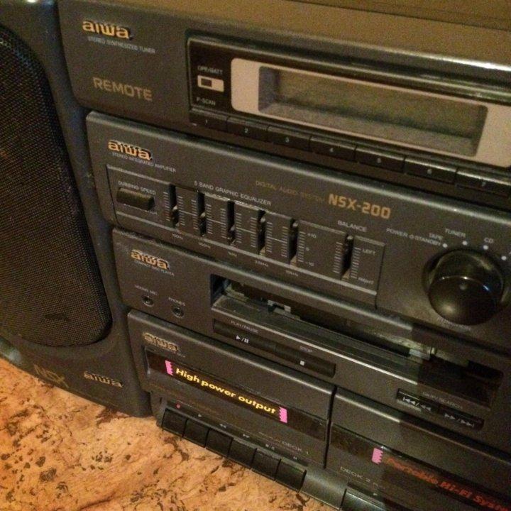 cc5e22a049aa Aiwa NSX 200 музыкальный центр – купить в Ростове-на-Дону, цена 999 ...