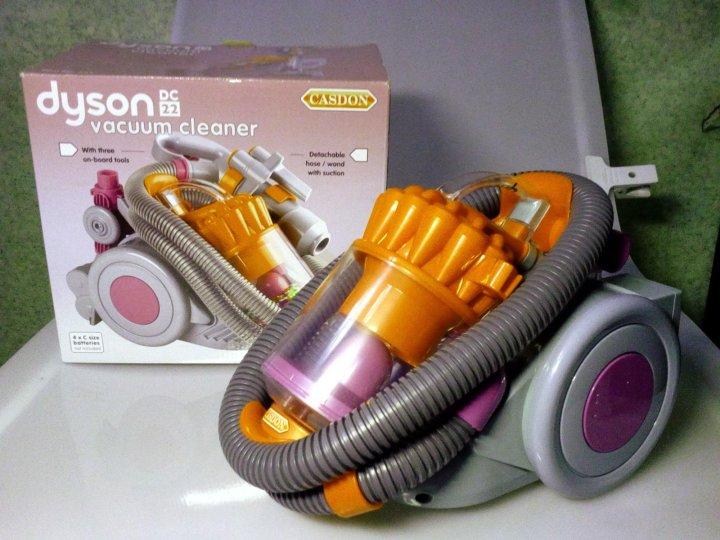 игрушечный пылесос dyson dc22