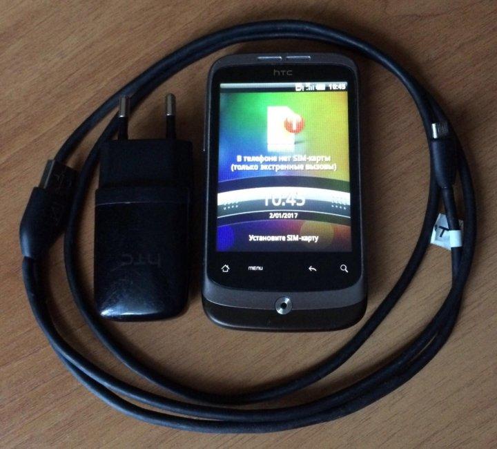 f8b6c79cf9dd4 Смартфон HTC Wildfire A3333 – купить в Москве, цена 1 500 руб., дата ...
