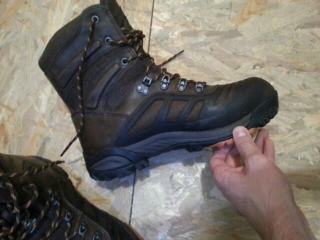 0384b2a75 Владивосток. Зимние трекинговые ботинки wolverine gauge. Фото 4. Владивосток .