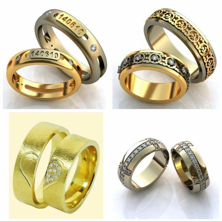 f723f10814e2 Золотые обручальные кольца на заказ – купить в Москве, цена 2 650 ...