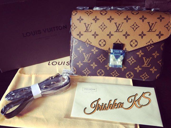 6d284f8189d0 Сумка Клатч Louis Vuitton Pochette Métis – купить в Москве, цена 5 ...